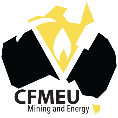 cfmeu mining and energy logo
